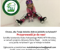 Start naszego projektu JAZDA NA HOKEJ – w ramach programu Aktywny Dolny Śląsk