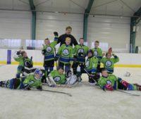 Nasi zawodnicy mini hokeja także otwierają sezon wygranymi !!!